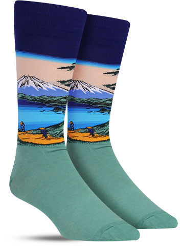Hot_Sox_Mt_Fuji_Fun_Art_Socks_Men_IMG_7899_large