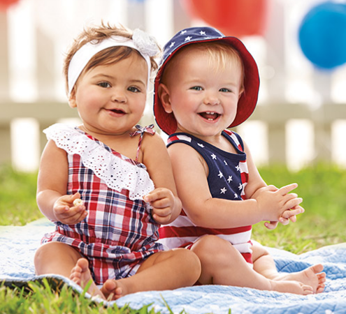 Kids Summer Clothes   4th of July Outfits   The Children s Place