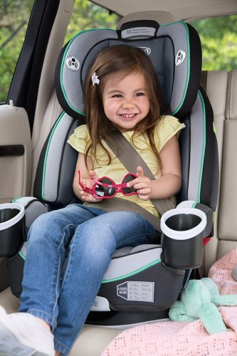 In Stage 2 The 4Ever Convertible Car Seat Secures Your Growing Child A 5 Point Harness While Forward Facing From 22 To 65 Lb