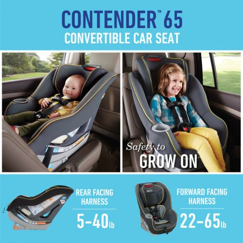 Gracos Contender 65 Convertible Car Seat Is Your Best Bet Get It At Toys R Us For 50