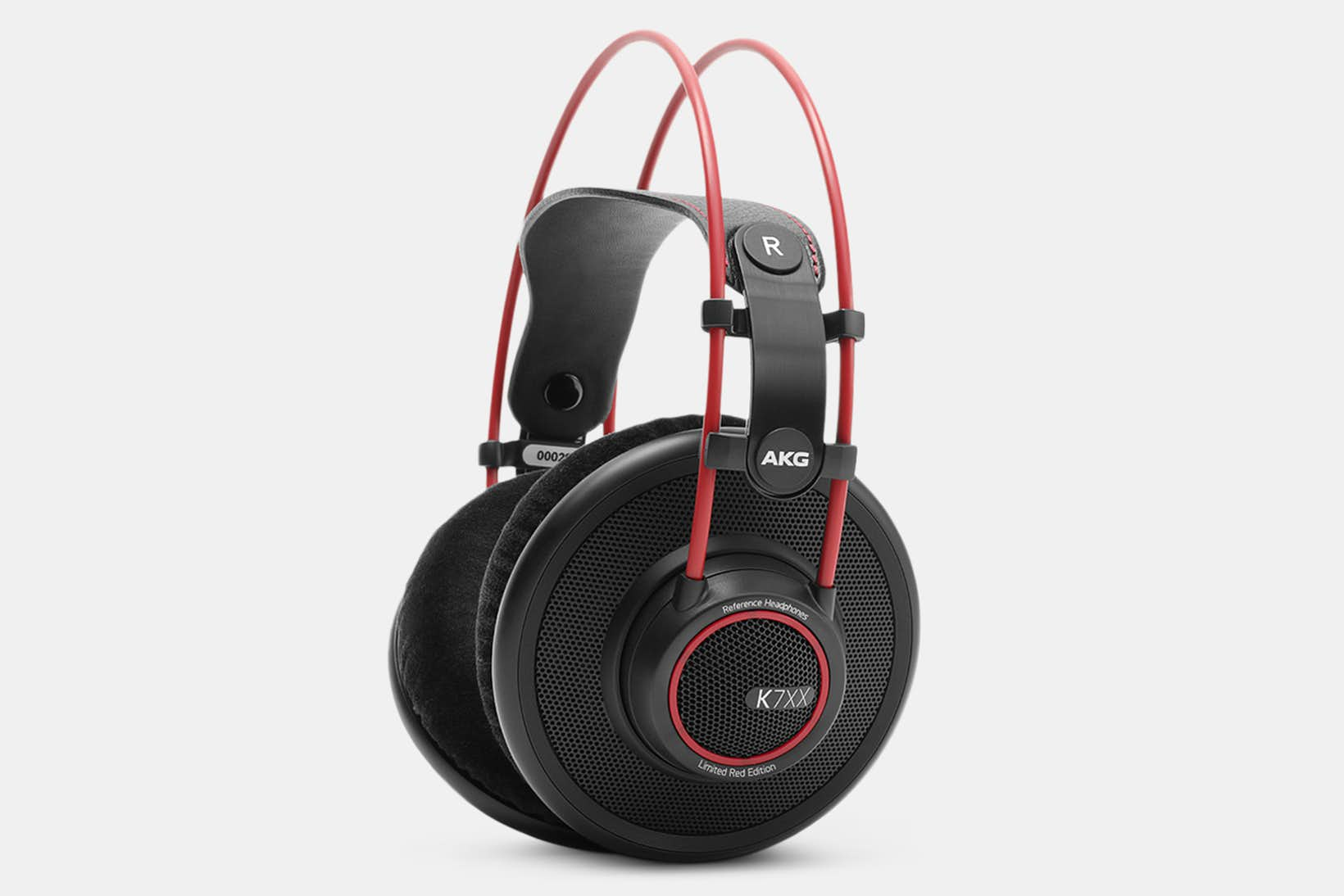 The best headphones - MASSDROP X AKG K7XX RED EDITION
