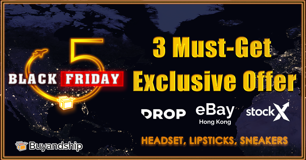 Black Friday 2019 Shopping Guide: Buyandship Member Exclusive Offers