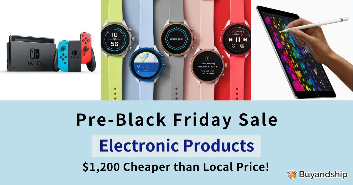Blck Friday 2019 Pre-Sale