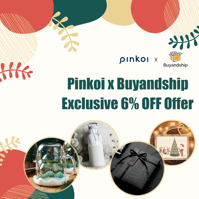 Buyandship X Pinkoi Exclusive Offer