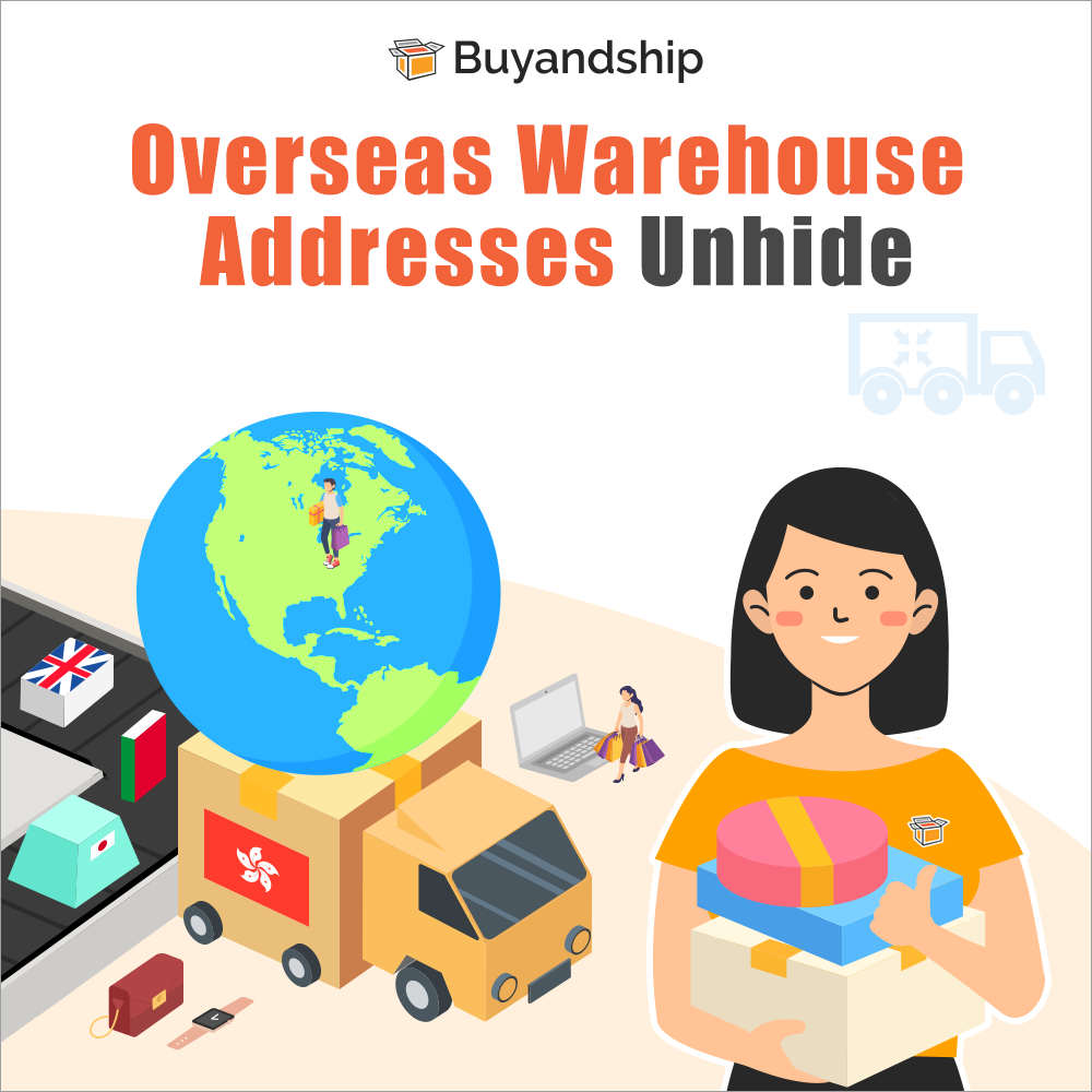 Overseas Warehouse Addresses Are Now Open To Users