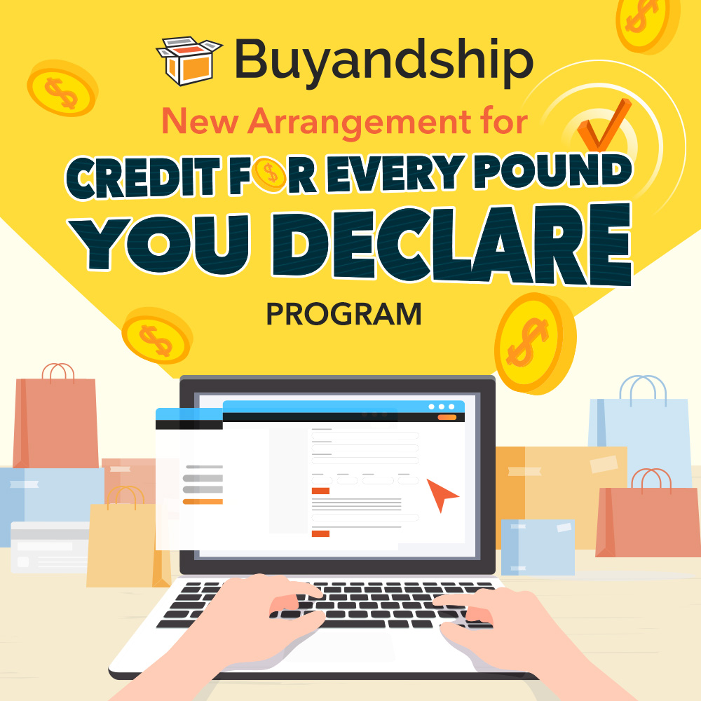 """New Arrangement for """"Credit For Every Pound You Declare"""" Program"""