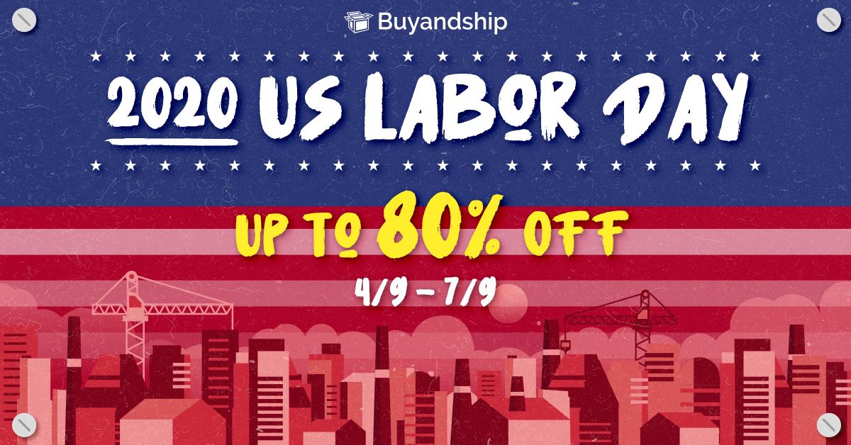 勞動節優惠-Labor Day網購-折扣-優惠碼