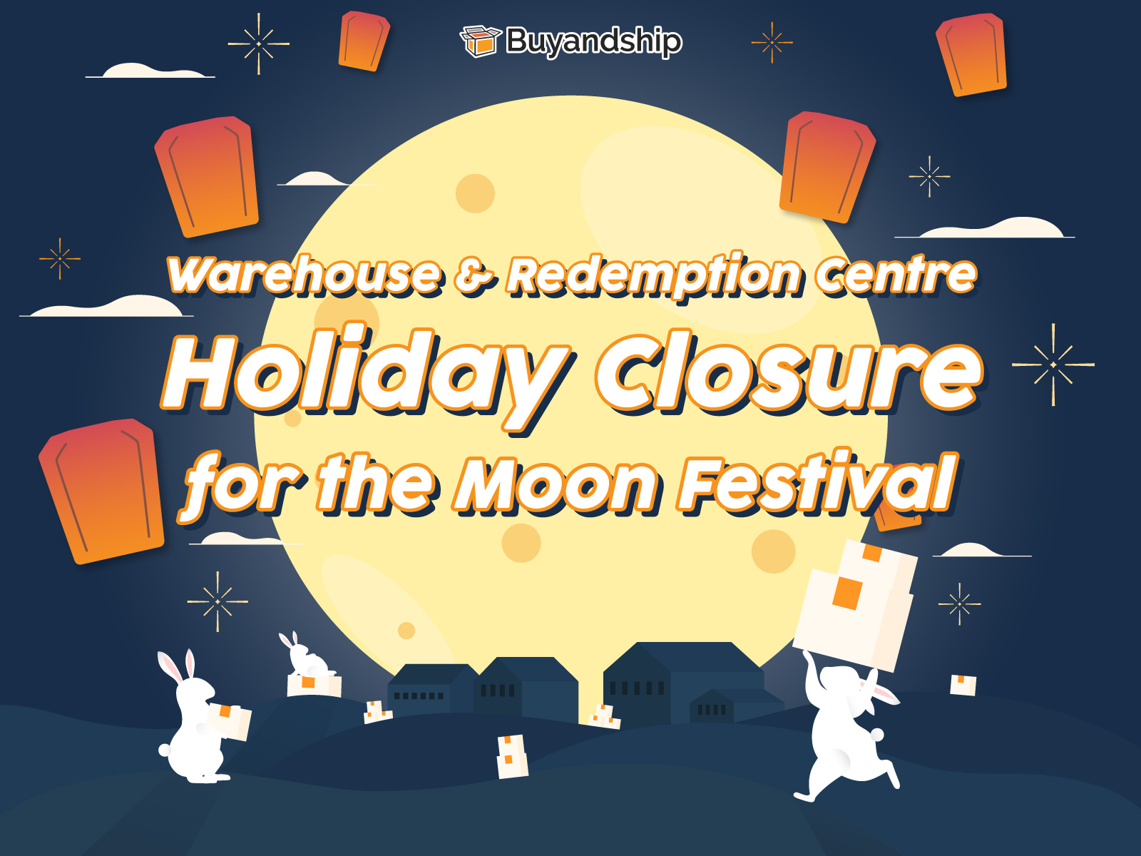 Warehouse & Redemption Centre: Holiday Closure for the Mid-Autumn Festival